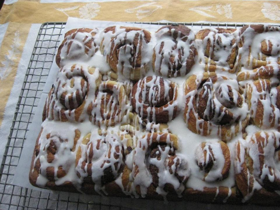 "Cinnamon buns from ""Baking Style''"